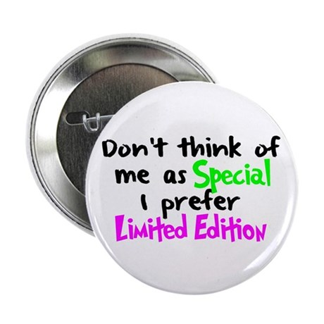 "Limited Edition Green/Pink 2.25"" Button (10 pack)"