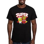 Super Men's Fitted T-Shirt (dark)