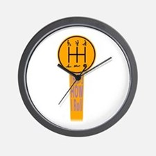 That`s How I Roll Wall Clock