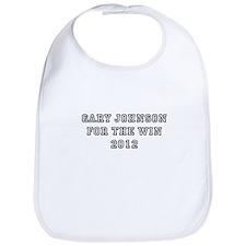 Gary Johnson For President 20 Bib