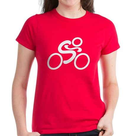Cycling Women's Dark T-Shirt