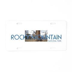 ABH Rocky Mountain Aluminum License Plate