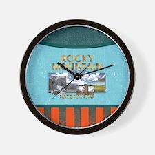 ABH Rocky Mountain Wall Clock
