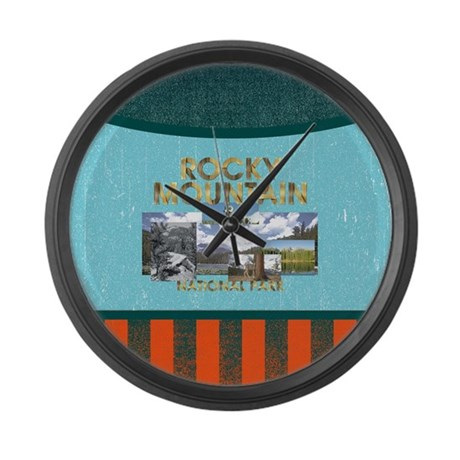 ABH Rocky Mountain Large Wall Clock