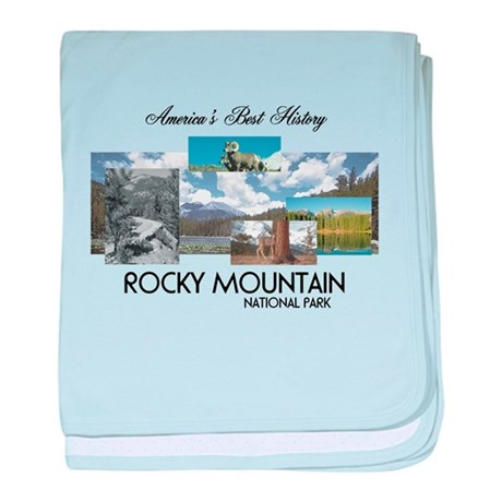 ABH Rocky Mountain baby blanket