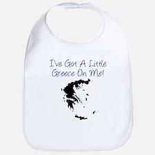 Little Greece On Me Bib