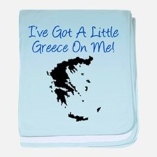 Little Greece On Me baby blanket