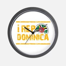 I rep Dominican Wall Clock