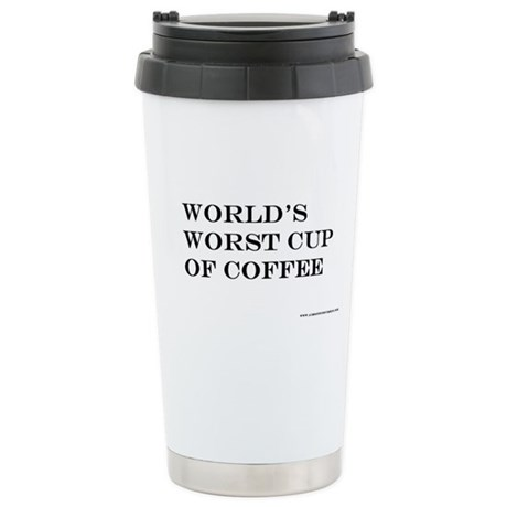Stainless Steel Travel Mug of the world's worst co