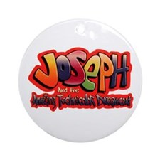 Cute Joseph Ornament (Round)