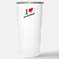 I (heart) Jon Huntsman Travel Mug