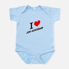 I (heart) Jon Huntsman Infant Bodysuit