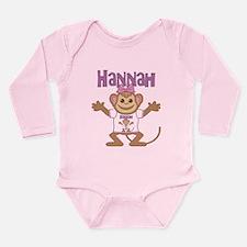 Little Monkey Hannah Onesie Romper Suit