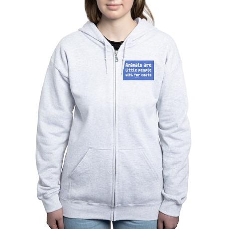 Little People Women's Zip Hoodie