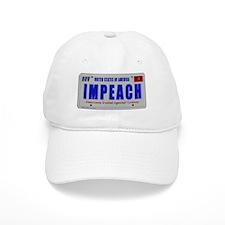 IMPEACH plate Baseball Cap