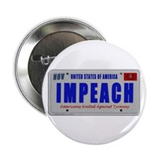 "IMPEACH plate 2.25"" Button"