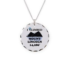 I Climbed Mount Lincoln Necklace