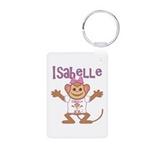 Little Monkey Isabelle Aluminum Photo Keychain
