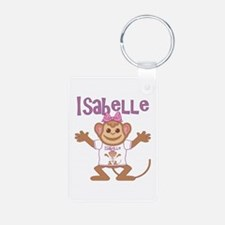 Little Monkey Isabelle Aluminum Photo Keychain