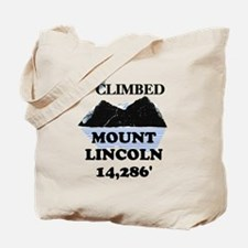 I Climbed Mount Lincoln Tote Bag
