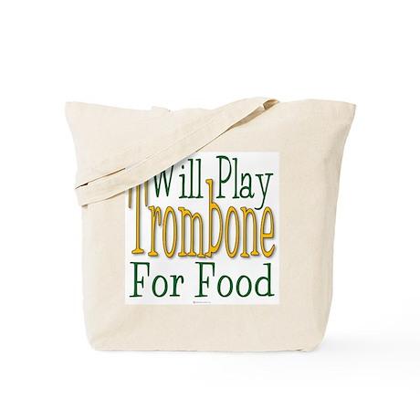 Will Play Trombone Tote Bag