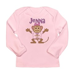 Little Monkey Jenna Long Sleeve Infant T-Shirt