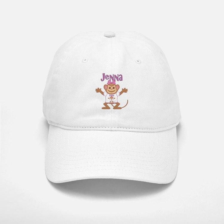Little Monkey Jenna Baseball Baseball Cap