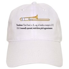 Trombone Pitch Approxomator Baseball Cap