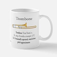 Trombone Pitch Approxomator Mug