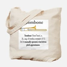 Trombone Pitch Approxomator Tote Bag