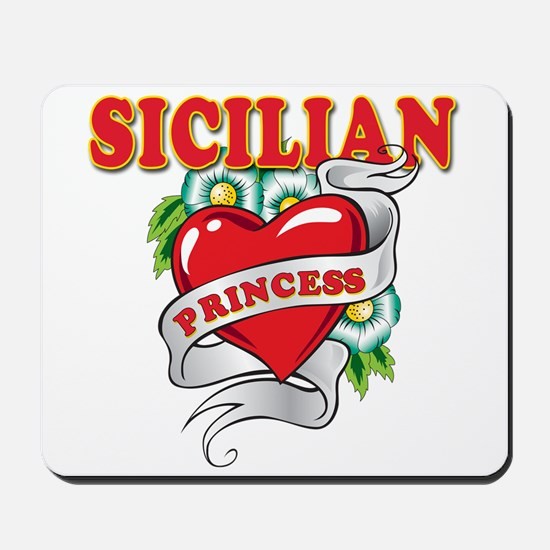 Sicilian Princess Mousepad