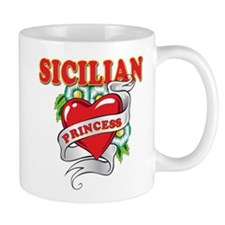 Sicilian Princess Small Mugs