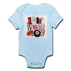 Numbers Infant Bodysuit