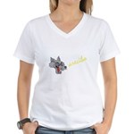 Arecibo Women's V-Neck T-Shirt