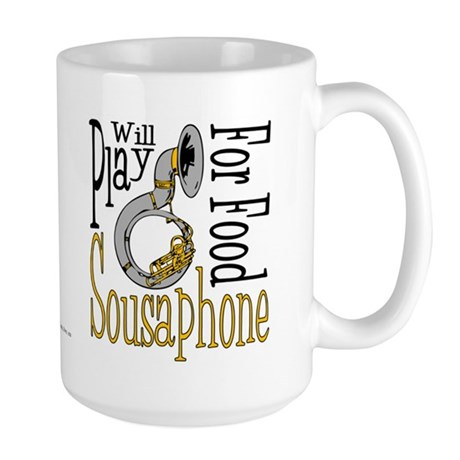 Will Play Sousaphone Large Mug