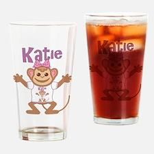 Little Monkey Katie Drinking Glass