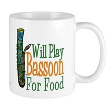 Will Play Bassoon Small Mug