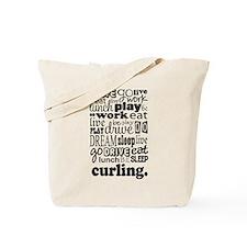 Curling Gift Tote Bag