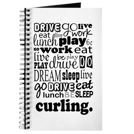 Curling Gift Journal