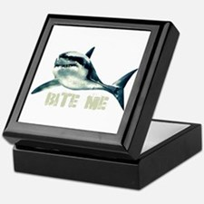 Bite Me Shark Keepsake Box