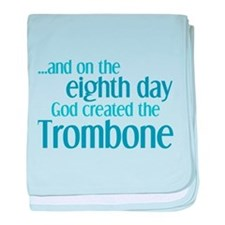 Trombone Creation baby blanket