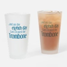 Trombone Creation Drinking Glass