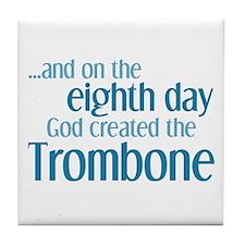 Trombone Creation Tile Coaster