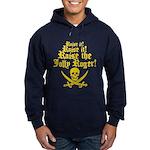 Raise The Jolly Roger Hoodie (dark)