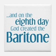 Baritone Creation Tile Coaster