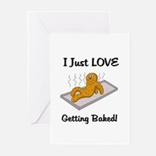 Love Getting Baked Greeting Cards (Pk of 20)