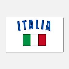Italian Flag Car Magnet 20 x 12