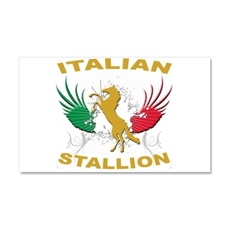 Italian Stallion Car Magnet 20 x 12