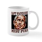 Bush makes me puke Mug