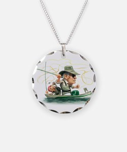 Unique Fly fishing Necklace